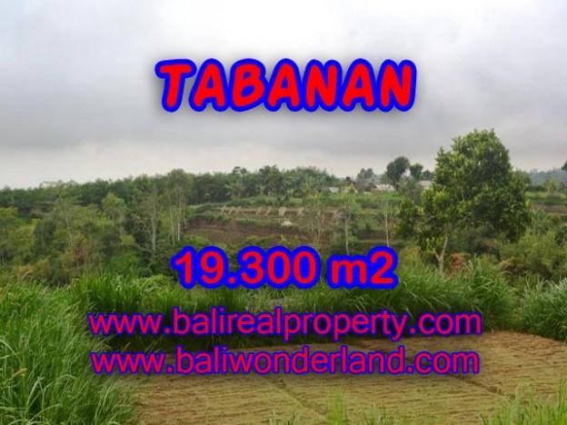 DIJUAL TANAH DI TABANAN BALI TJTB086 - PELUANG INVESTASI PROPERTY DI BALI