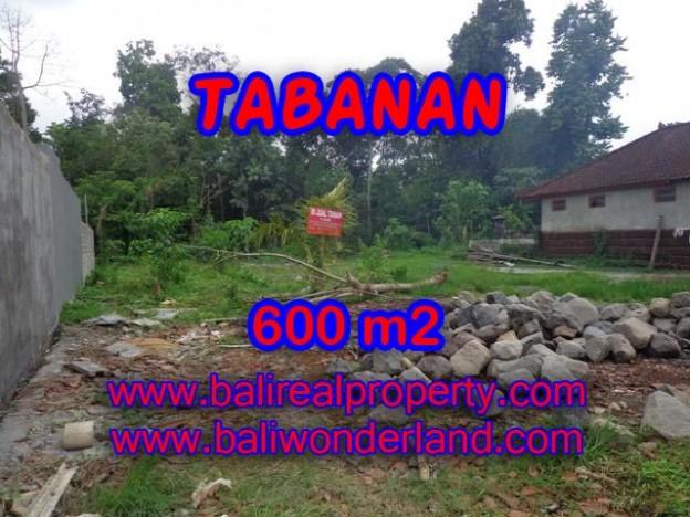 DIJUAL TANAH DI TABANAN RP 1.850.000 / M2 - TJTB087 - INVESTASI PROPERTY DI BALI