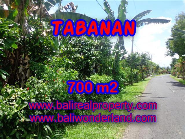 DIJUAL TANAH DI BALI, MURAH DI TABANAN RP 700.000 / M2 - TJTB090