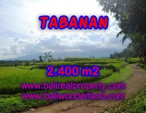 MURAH ! TANAH DIJUAL DI TABANAN BALI TJTB126 – INVESTASI PROPERTY DI BALI