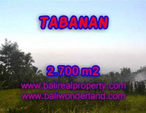 Investasi Properti di Bali – Murah ! Tanah di TABANAN Bali Dijual TJTB128
