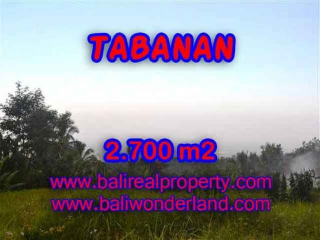 Investasi Properti di Bali - Murah ! Tanah di TABANAN Bali Dijual TJTB128