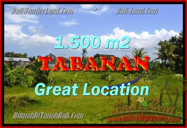 JUAL TANAH DI TABANAN BALI MURAH CUMA RP 1.750.000 / M2