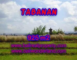 Kesempatan Investasi Properti di Bali – Jual Tanah murah di TABANAN TJTB135