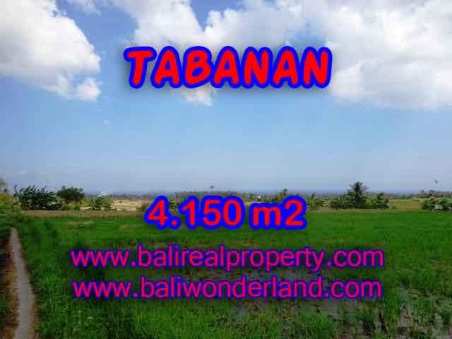 DIJUAL TANAH MURAH DI TABANAN BALI TJTB137 - KESEMPATAN INVESTASI PROPERTY DI BALI