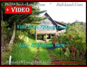 JUAL TANAH di TABANAN BALI 720 m2  view danau beratan dan gunung
