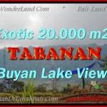 JUAL TANAH MURAH di TABANAN 200 Are View gunung dan danau buyan