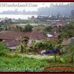TANAH JUAL MURAH TABANAN 1,400 m2 View Danau Beratan dan Gunung