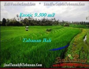 JUAL TANAH di TABANAN 95 Are View Gunung dan sawah