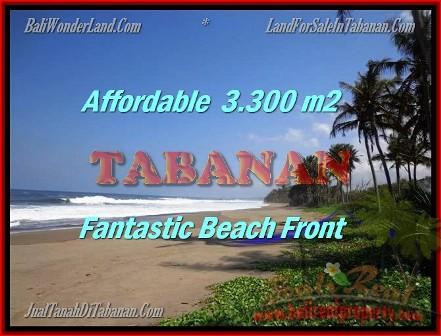 TANAH JUAL MURAH TABANAN 33 Are view laut dan sawah