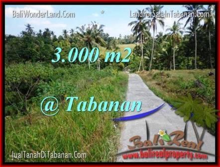 INVESTASI PROPERTY, JUAL TANAH MURAH di TABANAN BALI TJTB205
