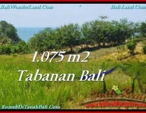 TANAH di TABANAN DIJUAL 1,075 m2 di Tabanan Selemadeg