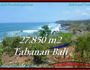 TANAH MURAH JUAL di TABANAN BALI 278.5 Are Los Pantai, View Gunung