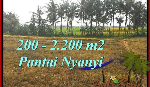 TANAH MURAH JUAL di TABANAN BALI 2,200 m2 View sawah