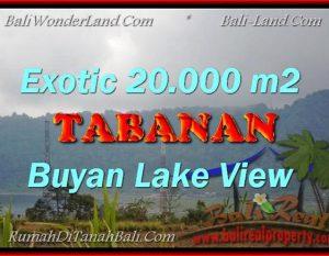 TANAH MURAH JUAL di TABANAN BALI 200 Are View gunung dan danau buyan