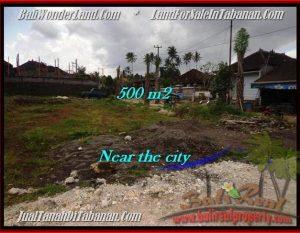 DIJUAL TANAH di TABANAN BALI 500 m2 di Tabanan Kota