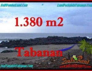 TANAH di TABANAN BALI DIJUAL MURAH 13.8 Are View Laut dan Kebun