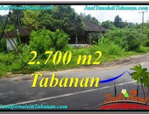INVESTASI PROPERTY, TANAH MURAH di TABANAN BALI TJTB299