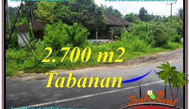 TANAH JUAL MURAH TABANAN 27 Are View kebun dan sungai