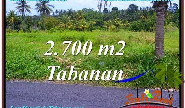 TANAH MURAH di TABANAN BALI Untuk INVESTASI TJTB301