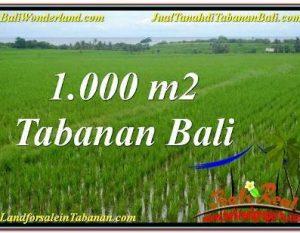 JUAL TANAH MURAH di TABANAN Untuk INVESTASI TJTB307