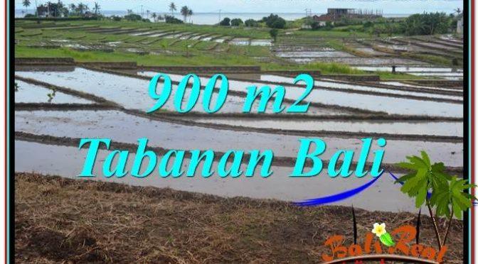 TANAH MURAH di TABANAN BALI DIJUAL 900 m2 View Laut, Gunung dan sawah