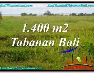 INVESTASI PROPERTI, TANAH DIJUAL di TABANAN BALI TJTB309