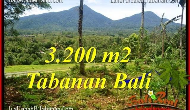 DIJUAL TANAH MURAH di TABANAN BALI Untuk INVESTASI TJTB319