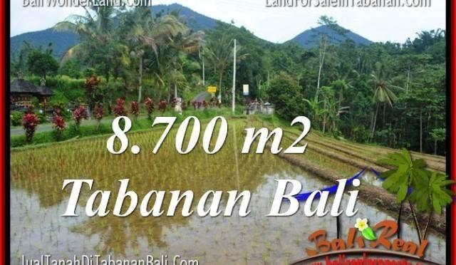 DIJUAL MURAH TANAH di TABANAN BALI 87 Are di Tabanan Penebel