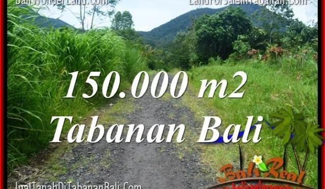 DIJUAL TANAH MURAH di TABANAN BALI 1500 Are di Tabanan Penebel