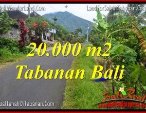 INVESTASI PROPERTI, TANAH DIJUAL di TABANAN TJTB315