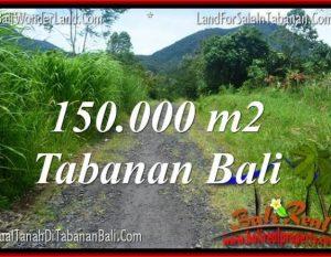 JUAL TANAH di TABANAN 150,000 m2 di Tabanan Penebel