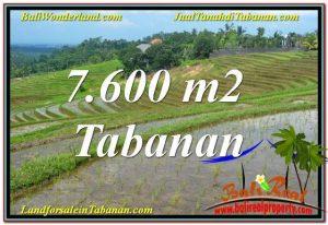 JUAL TANAH di TABANAN BALI 76 Are View Laut, Gunung dan sawah