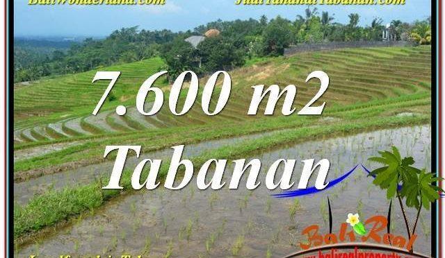 JUAL TANAH di TABANAN BALI Untuk INVESTASI TJTB347