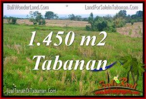 DIJUAL MURAH TANAH di TABANAN 1,450 m2 di Tabanan Selemadeg