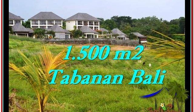 DIJUAL TANAH di TABANAN 1,500 m2 di Tabanan Selemadeg