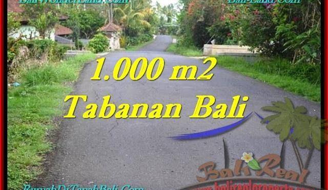 TANAH di TABANAN BALI DIJUAL MURAH Untuk INVESTASI TJTB243