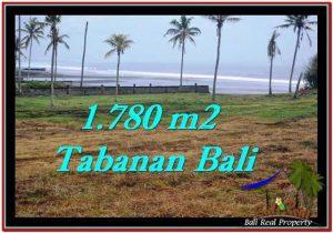 JUAL MURAH TANAH di TABANAN BALI 17.8 Are View sawah, laut dan gunung