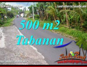 DIJUAL TANAH di TABANAN TJTB362