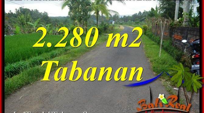 DIJUAL MURAH TANAH di TABANAN Untuk INVESTASI TJTB374