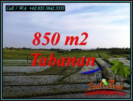 INVESTASI PROPERTY, TANAH MURAH di TABANAN BALI DIJUAL TJTB494