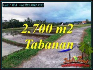 INVESTASI PROPERTY, JUAL TANAH MURAH di TABANAN BALI TJTB460