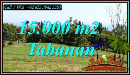 DIJUAL MURAH TANAH di TABANAN BALI 15,000 m2 di SELEMADEG BARAT